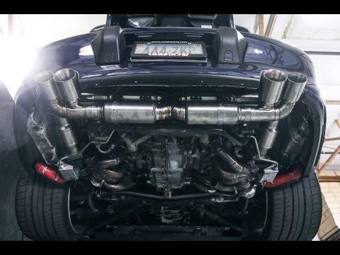 Agency Power Titanium Exhaust System Porsche 996 Turbo