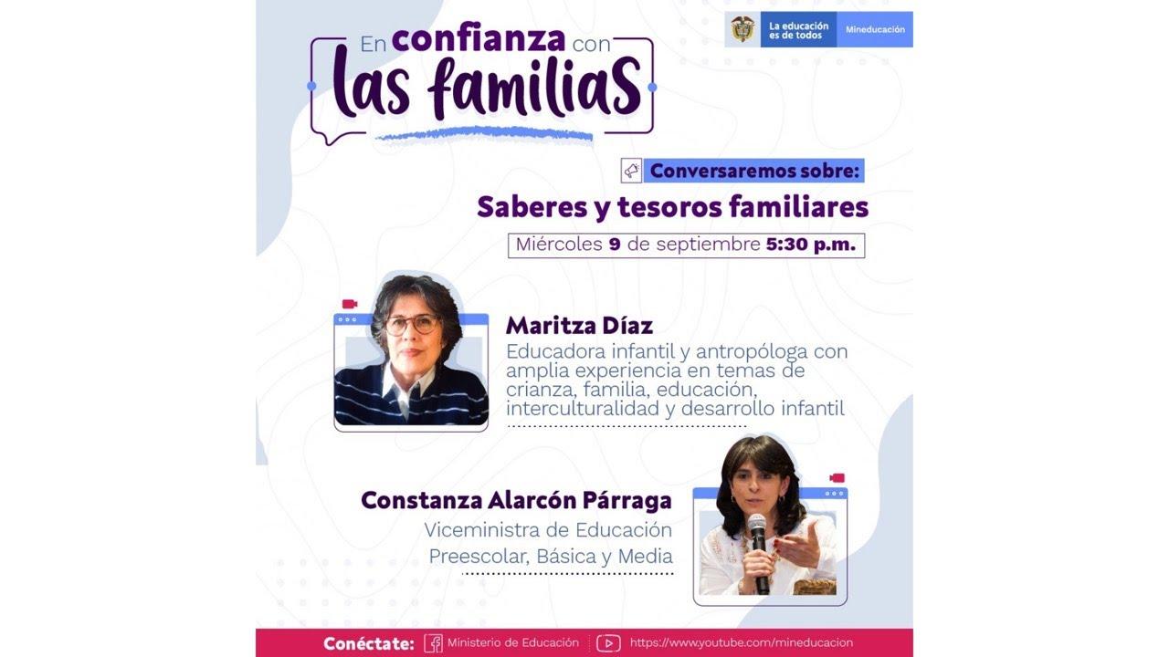 """💻[Conferencia] """"En Confianza con las Familias"""""""