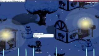 Gaia Christmas 2k8 Town Glitch