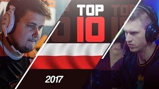 TOP 10 AKCJI POLSKICH ZAWODNIKÓW CS:GO w 2017 ROKU!
