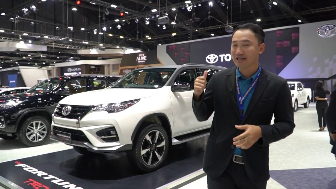 TRD 2 มาแล้ว!!! พาชม Toyota Fortuner TRD Sportivo ใหม่ ในงาน Motor Expo 2018