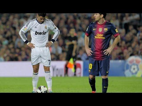 Ronaldo vs Messi ● Top 5 Free Kicks Ever ● HD