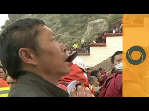 Lhamo at the Shoton Festival in Tibet