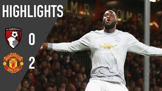 Manchester united 2-0 afc bournemouth (a): premier league rewind