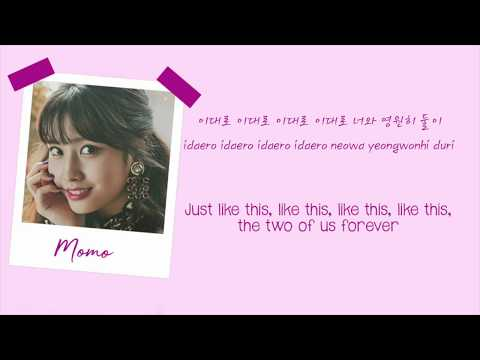 The Best Thing I Ever Did - Twice Colour Coded Lyrics (HAN/ROM/ENG)