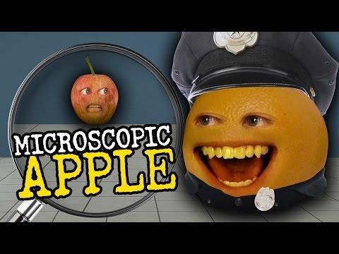 Annoying Orange - Microscopic Apple (feat. Greg Benson, Joe Nation & Jess Lizama)