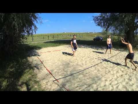 amazing beach volleyball
