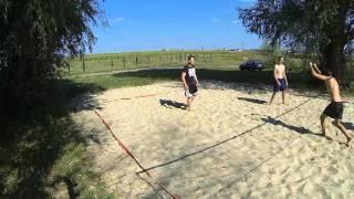 amazing beach volleyball