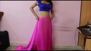 How To Wear Party Wear Saree:Wedding Heavy Saree Draping Tips Thumbnail