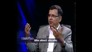 Dr. Bipin Adhikari, Constitutional Expert in TOUGH talk with Dil Bhusan Pathak