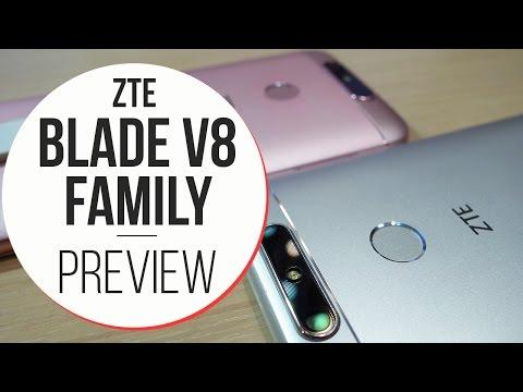 Anteprima ZTE Blade V8, V8 Mini e V8 Lite - MWC 2017