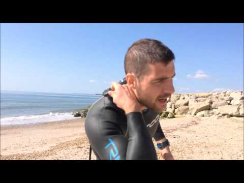 Swimming in wetsuits for triathlon