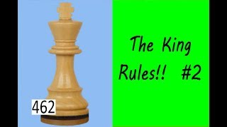 The King Rules! ¦ Saving half a point!
