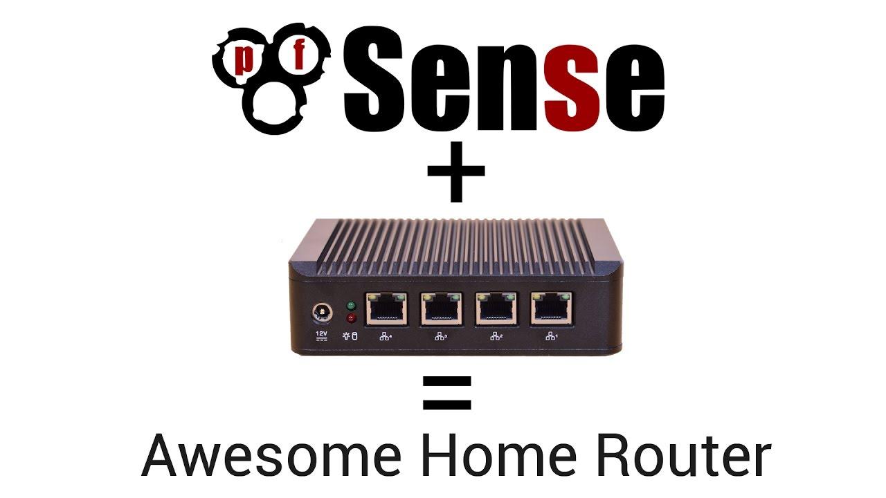 home network project pfsense router [ 1280 x 720 Pixel ]