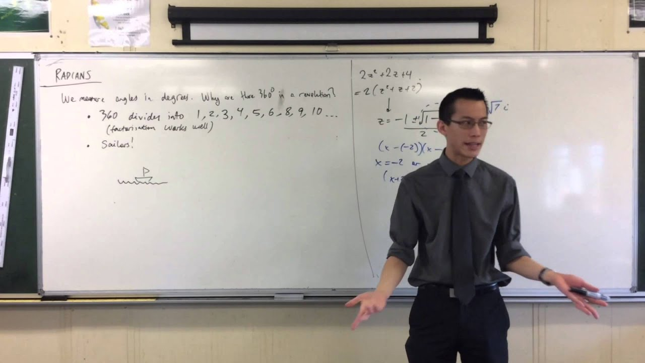 Introduction to Radians (1 of 3: Thinking about degrees)