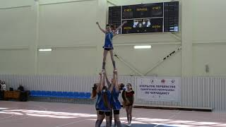 Cheerleading. Чир спорт. Команда  Lucky Star.