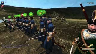 Mount & Blade Warband - THE DELUGE - ChW vs Tercio 18.09