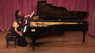 Junior Concerto Recital Recording in Manhattan School of Music on 1...