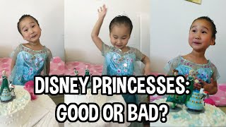Should you let your kids watch Disney Princes Movies?