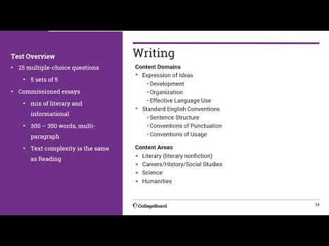 ACCUPLACER Reading And Writing Tests
