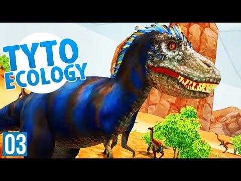 TARBOSAURUS GOES HUNTING | Tyto Ecology Cretaceous Mongolia (Dinosaur DLC Part 3)