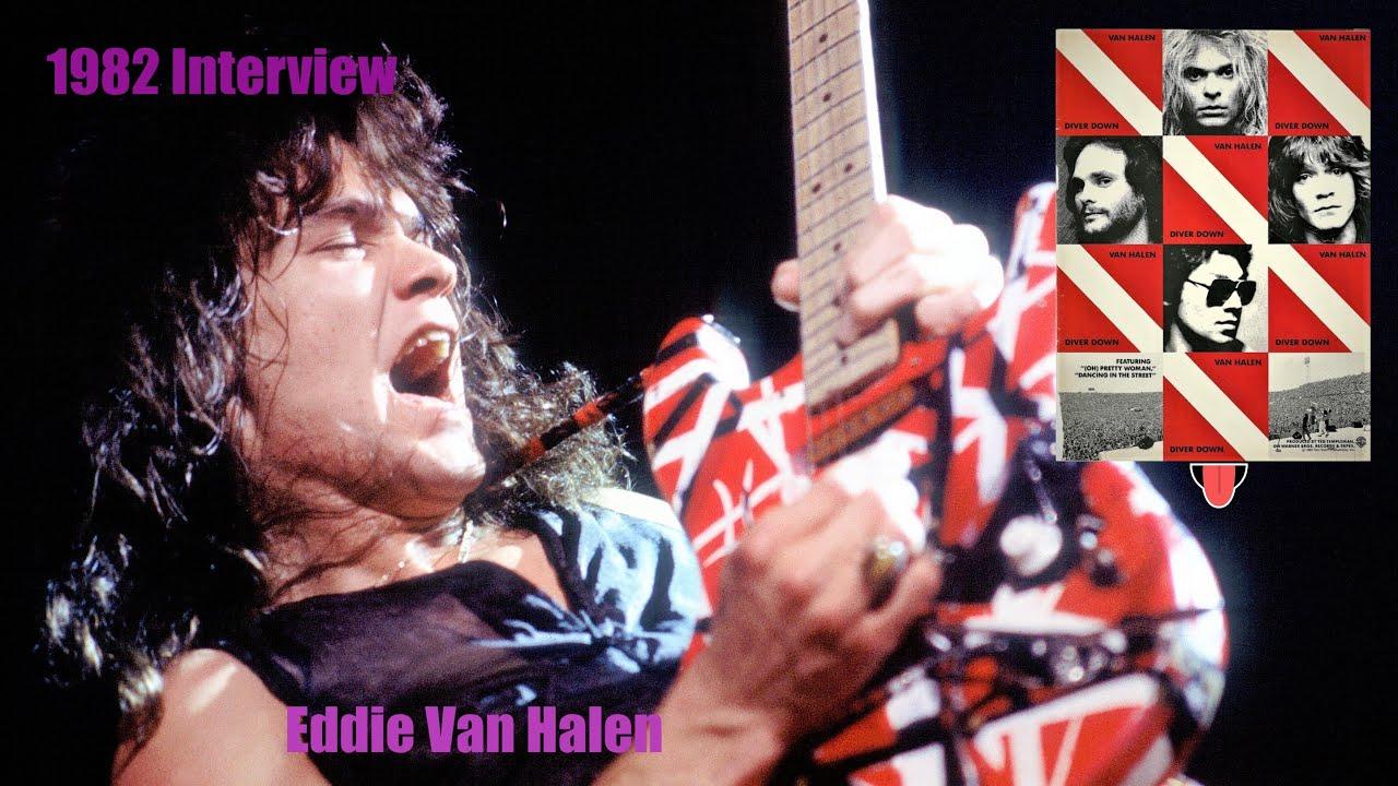 Eddie Van Halen Interview 1982 Diver Down Only Cost 46 000 00 Youtube