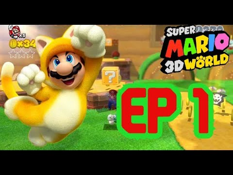 Super Mario 3D World EP 1 - YouTube