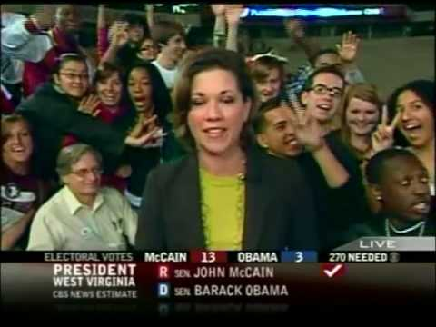 CBS News Election Night Coverage - 11/4/2008 - Pt. 1