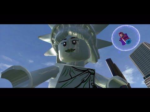 Lego Marvel Super Heroes (Xbox 360) Taking Liberties