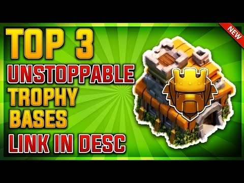 TOP 3 UNSTOPPABLE TOWN HALL 7 (TH7) TROPHY/TITAN LEAGUE BASE GUIDE 2019