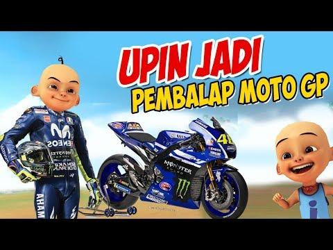 Upin Ipin Jadi Pembalap Moto GP , Ipin Senang GTA Lucu