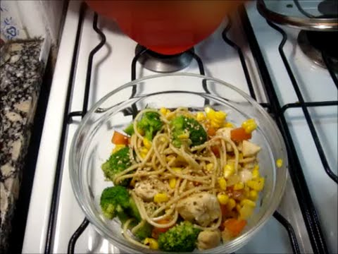 How to cook easy, healthy, cheap. Veggies & Pasta
