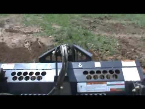 Bobcat 5b Landscape Rake Rock Hound Rake For Skid Steer