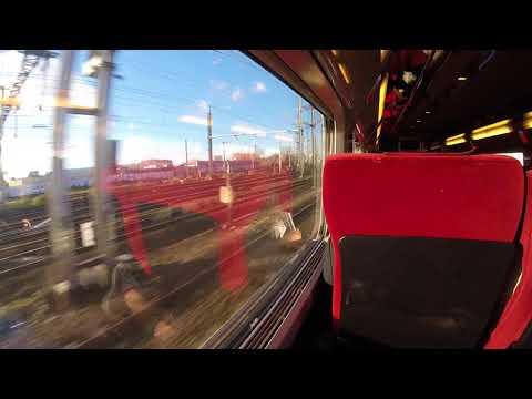 Thalys Train Ride Paris to Brussels   2017   Part 2   1080p 60 FPS