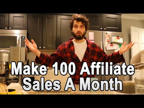 How to Earn a Full Time Income Online: 100 Affiliate Sales a Month