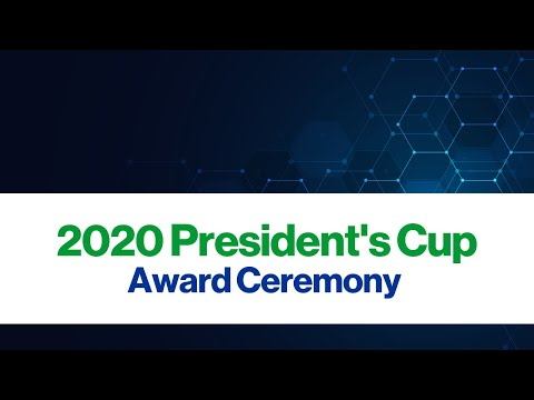 2020 ACSM President's Cup Award Ceremony