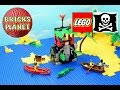 Forbidden Cove 6264 LEGO Pirates - Stop Motion Review