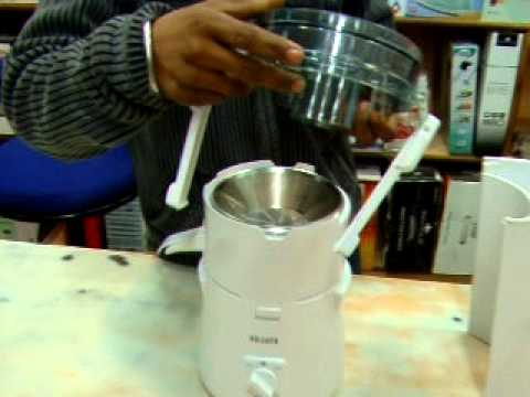 How to assemble Sujata juicer by rdsons.com