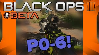 "Black Ops III Beta // ""P-06"" 3 Round Charge Burst Sniper Rifle!"