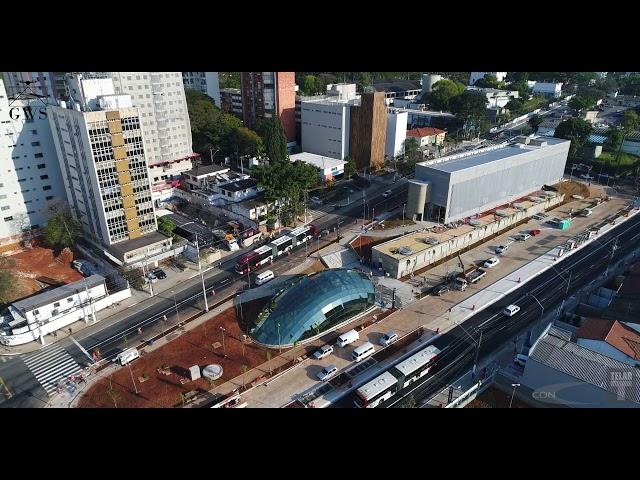 Infraestrutura Metroferroviária •  Acabamento Estação Borba Gato do Metrô de São Paulo