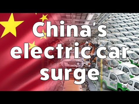 China's electric car surge