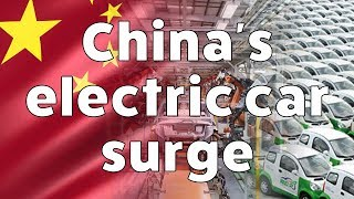 China's electric car surge