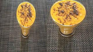 Healthy and tasty milkshake recipe in Tamil | Carrot Milkshake recipe | Summer special Milkshake