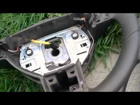 Airbag removal for an Astra H - YouTube