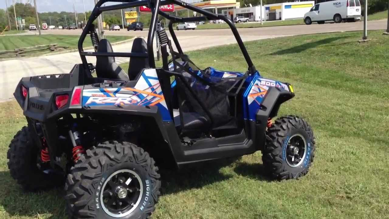 medium resolution of 2013 polaris ranger rzr s 800 le in blue fire and orange at tommy s motorsports youtube