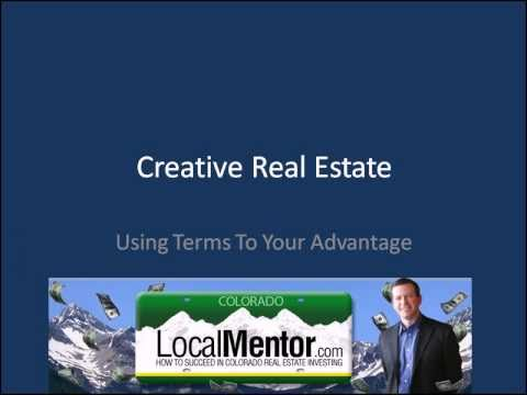 Creative Real Estate Investing Training Video - Creative Deal Structuring