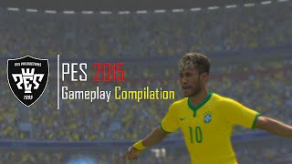 PES 2015 - Gameplay Compilation #1