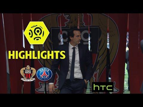 OGC Nice - Paris Saint-Germain (3-1) - Highlights - (OGCN - PARIS) / 2016-17
