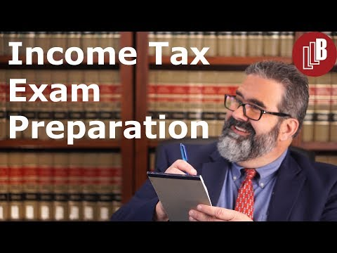 Income Tax Exam Preparation