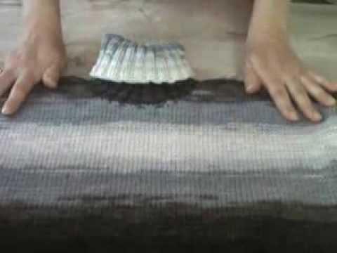 Правила вязания из пряжи секционного крашения